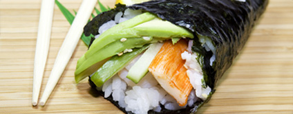 Temaki - Sushi (1 Stück)
